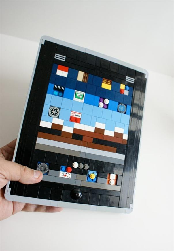 Lego Tablet Computer Model → Iri Mockup